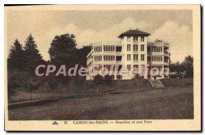 Postcard Old Cambo les Bains and Beaulieu Park