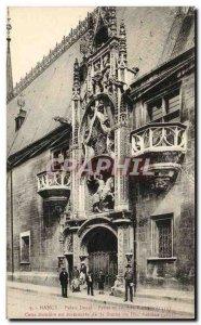 Old Postcard Nancy Ducal Palace Statue of Duke Antoine