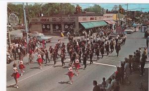 HAZEL PARK, Michigan, 1966, Hazel Park Jr. High Band, Memorial Day Parade