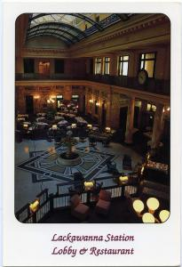 Lackawanna Station Lobby and Restaurant - DL&W Depot - Scranton PA Pennsylvania
