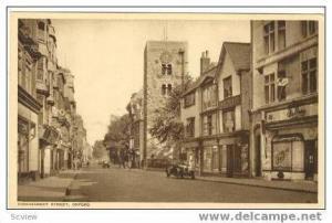 Cornmarket Street, Oxford, UK, 1910-30s