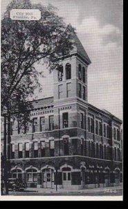 Pennsylvania Franklin, City Hall Building Dextre Press Archives