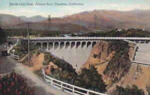 PASADENA, California, PU-1929; Devils Gate Dam, Arroyo Seco