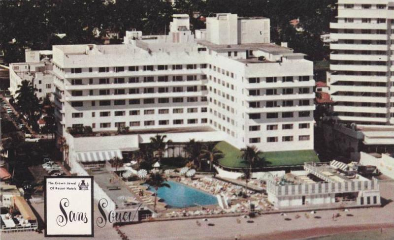 Sans Souci Hotel Miami Beach Florida 40 60s