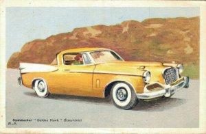 Studebaker Golden Hawk Chocolats Tobler Advertising Postcard  06.14