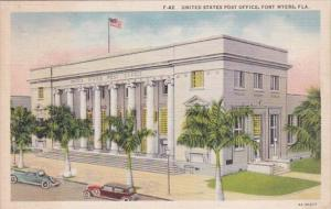 Florida Fort Myers Post Office 1939 Curteich
