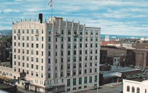 Air view,  Royal Edward Hotel,  Fort William,  Ontario,  Canada,  40-60s