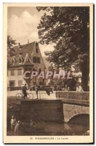 Old Postcard Wissembourg Lauter