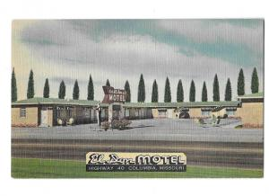 El Don Motel Highway 40 Columbia  Missouri