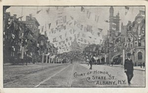 ALBANY , New York , 1909 ; Court of Honor , State Street