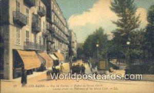 Rue du Casino, Grand Circle Aix-Les-Bains, France, Carte, Unused