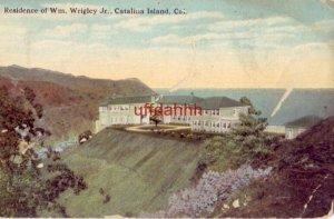 RESIDENCE OF Wm. WRIGLEY, JR CATALINA ISLAND, CA