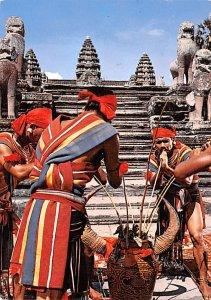 Folklore Dance of the Mountaineers Angkor Cambodia, Cambodge Unused