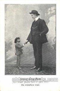 Smaun Sing Hpoo, Smallest Person, Midget, Dwarf, Circus Unused minimal wear o...