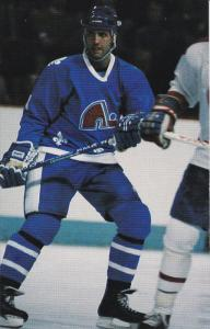 Brad Maxwell, Hockey Player, Defense, Quebec Nordiques, 1980´s