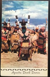 Postcard Unused Apache Devil Dance NM LB