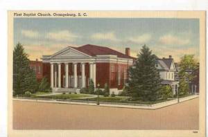 First Baptist Church,Orangeburg,  South Carolina,30-40s
