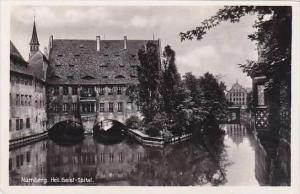 Germany Nuernberg Heiliges Geist-Spital Real Photo