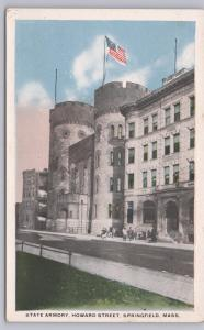 Springfield, Mass., State Armory, Howard Street -