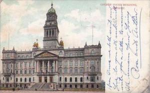 Michigan Detroit County Court Building 1909