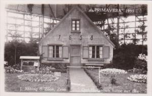 Netherlands Zeist Primavera 1933 Flower Show Real Photo