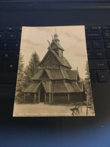 Vintage Postcard - Norsk Folk Museum
