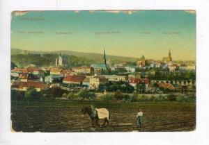 Teplitz-Schonau (Teplice), Austria (Now Czech Republic), PU-1912  Panorama wi...