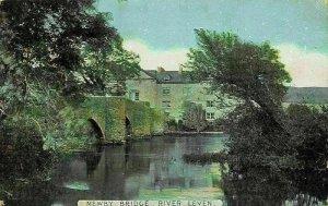 Newby Bridge River Leven Postcard