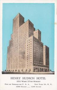 New York City Henry Hudson Hotel