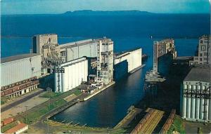 Air View of Grain Elevators at Fort Willian & Port Authur ON