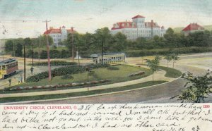 CLEVELAND , Ohio , 1906 ; University Circle, Trolleys