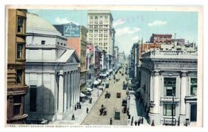 Grant Ave, San Francisco, CA Postcard *5N3