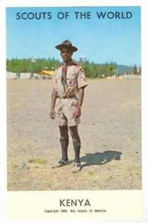 Boy Scouts of the World, Kenya,40-60s