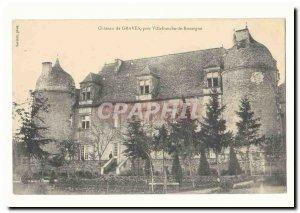 Chateau Graves near Villefranche de Rouergue