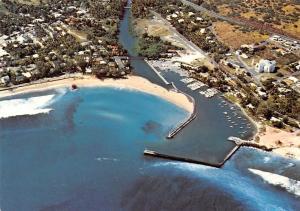 Ile de La Reunion Vue aerienne de St Gilles Port Harbour Boats