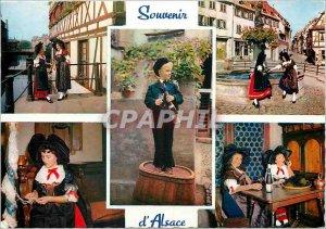 Modern Postcard Souvenir of Alsace