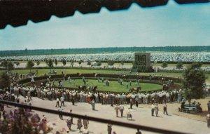 ATLANTIC CITY , New Jersey , 1962 ; Paddock Walking Ring, Horse Race Track