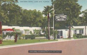 LAKE CITY, Florida, 1930-40s;  Mid-Town Motel