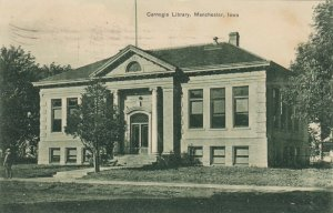 MANCHESTER , Iowa , 1909 ; Carnegie Library