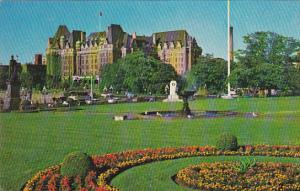 Canada British Columbia Victoria C P R Empress Hotel