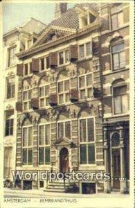 Rembrandthuis Amsterdam Netherlands 1958