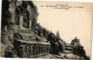 CPA Coté - ROTHÉNEUF - Roches sculptés-Le Tombeau et l'Ermite au Repos (226894)