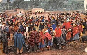 Quito Ecuador, Republica del Ecuador Saquisili Indian Market Quito Saquisili ...