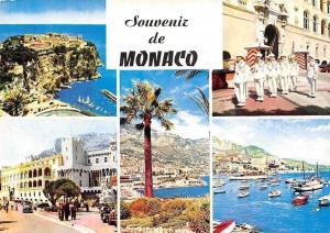 France Souvenir de Monaco, Port Bateaux Harbour, Palace Guards, Promenade