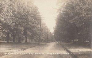 RP: POMFRET , Conn. , 1922 ; Main Street Looking South