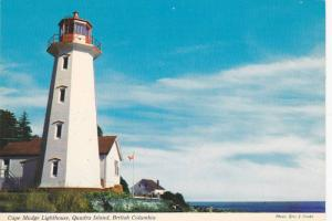 Cape Mudge Lighthouse , Quadra Island , B.C. , Canada , 50-70s
