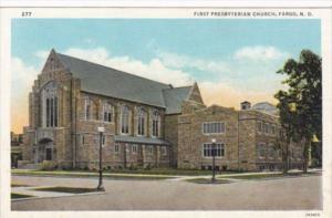 North Dakota Fargo First Presbyterian Church Curteich