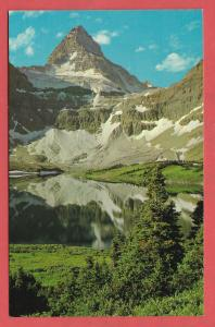 Mount Assiniboine and Lake Magog. Canadian Rockies