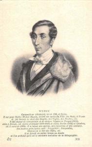 Carl Maria von Weber, German Composer, Musician, Compositeur Allemand, Postcard