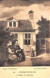 Amsterdam Holland Hooghe Pieter De, La Maison de Campagne Amsterdam Hooghe Pi...